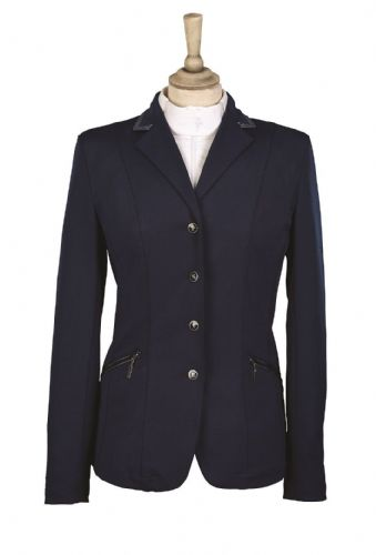 Caldene 'Cadence' Stretch Girl's Competition Jacket in Navy